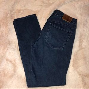 MADEWELL Rain Straight darkwash 28 x 30 jeans